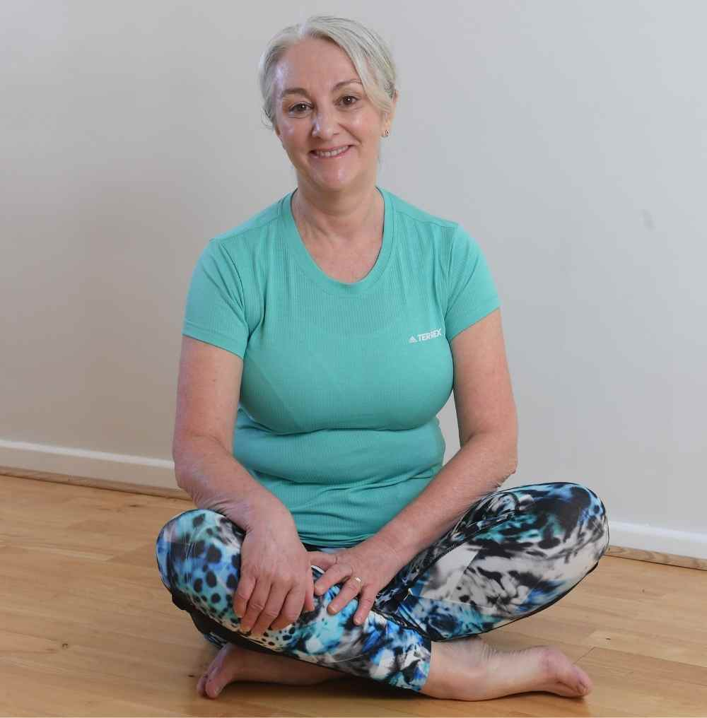 Cardiff Yoga teacher Amanda Powell (Anjali) found out for herself how Yoga is good for stress
